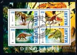 Malawi, Prehistoric animals, 2013, 4stamps