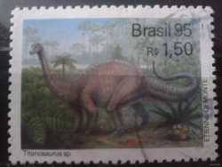 Brazil, Prehistoric animals, 1995, 1 stamp