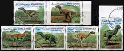 Somalia, Prehistoric animals, 1999, 6 stamps