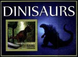 Comoros, Prehistoric animals, 2016, 1stamp (imperf.)