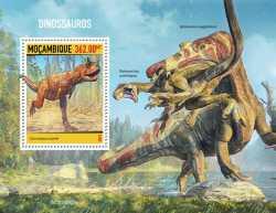 Mozambique, Prehistoric animals, 2020, 1stamp