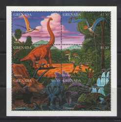 Grenada, Prehistoric animals, 1997, 12 stamps