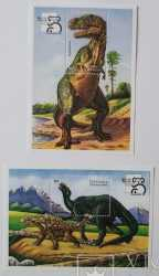 Saint Vincent and the Grenadines, Prehistoric animals, 2stamps