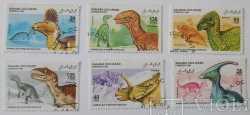 Western Sahara, Prehistoric animals, 6stamps