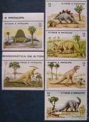 Sao Tome and Principe, Prehistoric animals, 6stamps