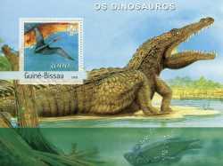 Guinea-Bissau, Prehistoric animals, 2003, 1stamp