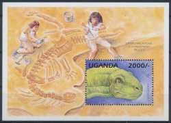 Uganda, Prehistoric animals, 1stamp