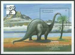 Saint Vincent and the Grenadines, Prehistoric animals, 1999, 1stamp