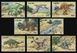 Nauru, Prehistoric animals, 2006, 8 stamps