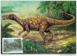 Brazil, Prehistoric animals, 1995, 2 stamps