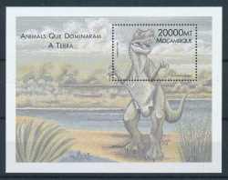 Mozambique, Prehistoric animals, 2000, 1stamp