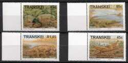 Transkei, Prehistoric animals, 1993, 4stamps