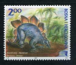 Bosnia and Herzegovina, Prehistoric animals, 2007, 1stamp