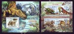 Mozambique, Prehistoric animals, 2012, 5stamps