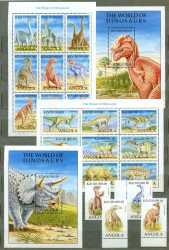 Angola, Prehistoric animals, 1998, 24 stamps