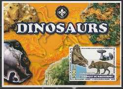 Mauritania, Prehistoric animals, 2003, 1 stamp