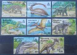 Solomon Islands, Prehistoric animals, 2006, 8 stamps