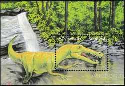 Mozambique, Prehistoric animals, 2002, 1stamp