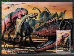 Tonga, Prehistoric animals, 2011, 1 stamp (imperf.)