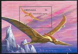 Grenada, Prehistoric animals, 1994, 1 stamp