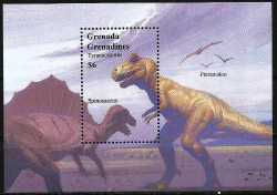 Grenada, Prehistoric animals, 1999, 1 stamp