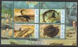 Malawi, Prehistoric animals, 2010, 4stamps