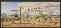 Australia, Prehistoric animals, 1993, 6stamps