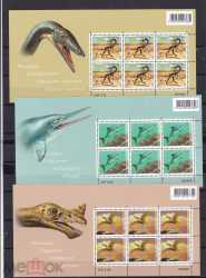 Switzerland, Prehistoric animals, 2010, 18stamps