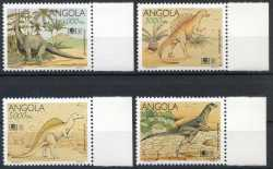 Angola, Prehistoric animals, 1994, 4stamps