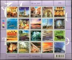 Доисторические животные, Таиланд, 2004, 20шт.