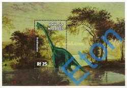 Maldives, Prehistoric animals, 1999, 1stamp