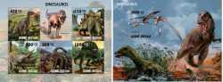 Guinea-Bissau, Prehistoric animals, 2010, 6stamps