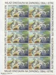 Croatia, Prehistoric animals, 1994, 20 stamps