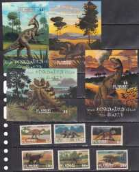 Saint Vincent and the Grenadines, Prehistoric animals, 2001, 34stamps