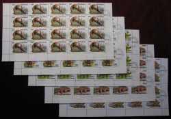 Vietnam, Prehistoric animals, 1990, 100stamps