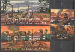 Saint Vincent and the Grenadines, Prehistoric animals, 13stamps