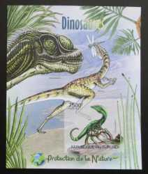Burundi, Prehistoric animals, 2012, 1stamp (imperf.)