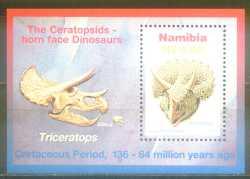 Namibia, Prehistoric animals, 1997, 1stamp