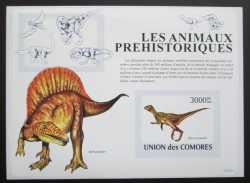 Comoros, Prehistoric animals, 2009, 1stamp (imperf.)