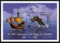 Antigua and Barbuda, Prehistoric animals, 1stamp