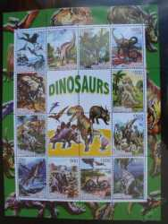East Timor, Prehistoric animals, 12 stamps