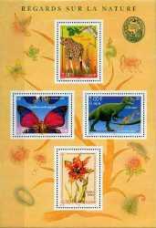 France, Prehistoric animals, 2000, 4stamps
