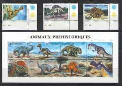 Guinea, Prehistoric animals, 1999, 13stamps