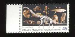 Germany, Prehistoric animals, 2010, 1 stamp
