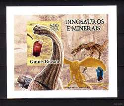 Guinea-Bissau, Prehistoric animals, 2005, 1 stamp (imperf.)