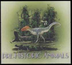 Nevis, Prehistoric animals, 2005, 1stamp
