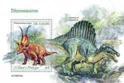 Sao Tome and Principe, Prehistoric animals, 2019, 1stamp