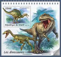 Niger, Prehistoric animals, 2019, 1 stamp