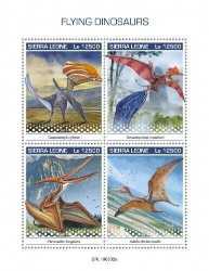 Sierra Leone, Prehistoric animals, 2019, 4stamps