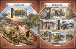 Maldives, Prehistoric animals, 2018, 5stamps